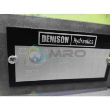 DENISON ZDV-P-01-5-S0-D1 VALVE Origin NO BOX