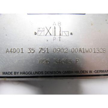 Hagglunds Denison A4D01 35 751 0902 00A1W01328 Directional Control Valve