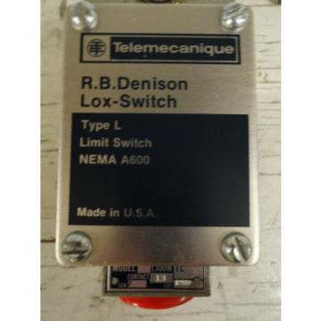 Telemecanique / RB Denison L100WTL Type L Limit Switch  Origin