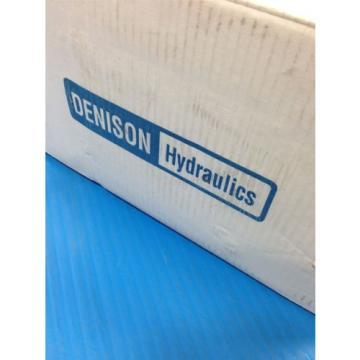Origin PARKER DENISON HYDRAULICS T6DC-038-014-1R24-B1 DOUBLE VANE HYDRAULIC PUMP 1D