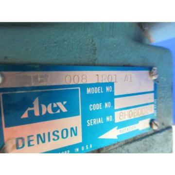 ABEX DENISON MOTOR T5C 008 1R01 A1 934-48566  T5C0081R01A1 HYDRAULIC PUMP