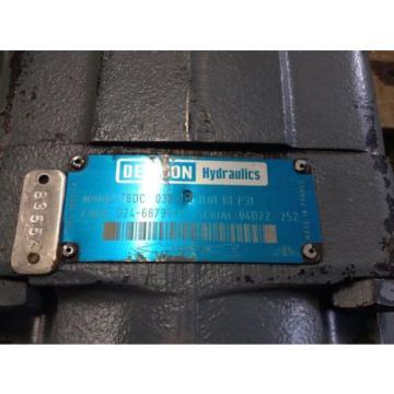 Denison T6DC 038 08 1L01 B1 P31 Hydraulic Vane Pump T6DC038081L01B1P31 TSC