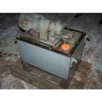 15 kw NACHI VDR-1A-1A2-10, variable vane pump, motor and tank