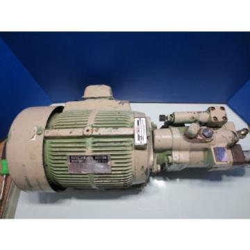 NACHI HYDRAULIC MOTOR LTIS70-NR PUMP UPV-1A-22N1-22-4-Z-10 PVS-1B-22N1-Z-10