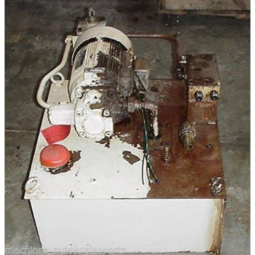 Showa Hydraulic Power Unit Tank PVU-55-0405-HX148 _ Nachi Motor LTIS70-NR