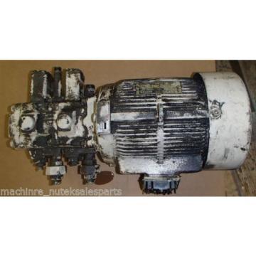 Nachi Variable Vane Pump VDR-11B-1A2-1A2-22_VDR11B1A21A222 WITH MOTOR
