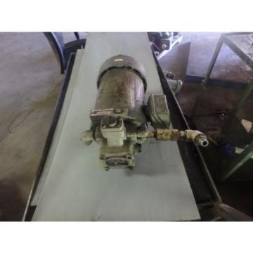 Nachi Variable Vane Pump amp; Motor_VDS-0B-1A3-U-10_VDS-OB-1A3-U-10