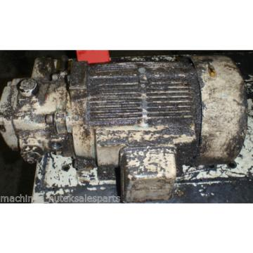 Nachi Varible Vane Pump VDR-1B-1A2-U21_VDR1B1A2U21 w/Motor_LT1570-NR_LTIS70-NR