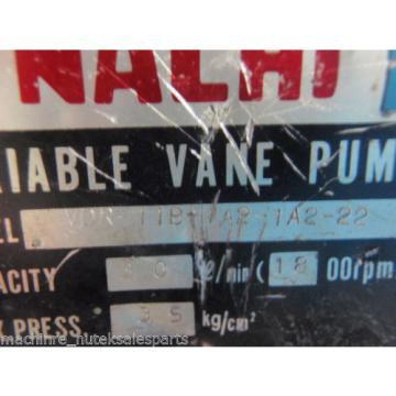 Nachi Variable Vane Pump VDR-11B-1A2-1A2-22_VDR11B1A21A222