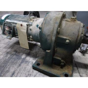 Sumitomo SM-Cyclo Motor amp; Gear TC-F/HM3145/10A 2HP 230/460V 61/30A 1740RPM