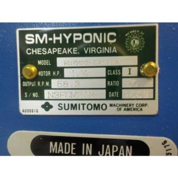 SUMITOMO TO-F/FB-02A Origin MOTOR W/GEAR HEAD