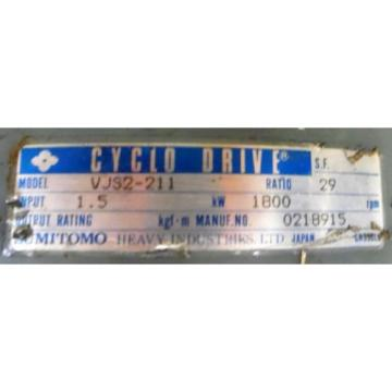 CYLCO GEAR DRIVE, 0218915, SUMITOMO, VJS2-211
