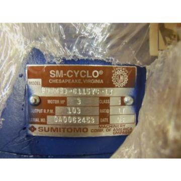 SUMITOMO CNHMS3-6115YC-1T GEAR REDUCER Origin IN BOX