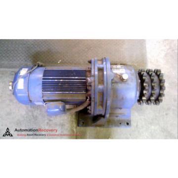 SUMITOMO CHHMS10-6185YB-R2-B-35, CYCLO 6000 GEAR MOTOR, RATIO: 6:1 #232294