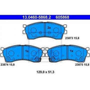 ATE 130460-58682 Bremsklotzsatz     23873