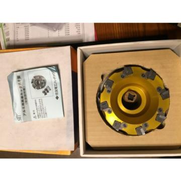 Sumitomo RF4125R High Speed Non Ferrous Finish Cutter 8 Tooth w/Inserts amp; Arbor