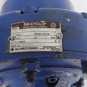 SUMITOMO CNH-6095Y-6 SM-CYCLO REDUCER 204 INPUT, 1750 HP, 6 RATIO, 417 TORQUE