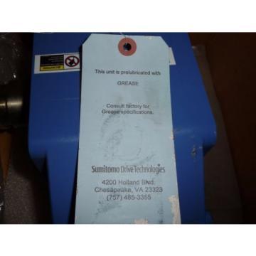 Sumitomo SM-Hyponic Right Angle Gear Speed Reducer, RNFJ-1520LY-X1-25, 25:1, origin