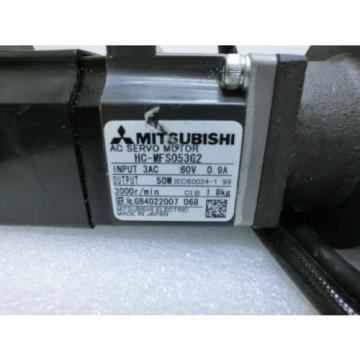 Mitsubishi HC-MFS053G2 AC Servo Motor+Sumitomo ANF J-K10-SV-29 MC-Drive@93282