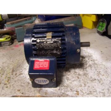 Origin MARATHON SUMITOMO 1/2 HP ELECTRIC MOTOR 460 VAC 1750 RPM 143TC FRAME 3 Ø