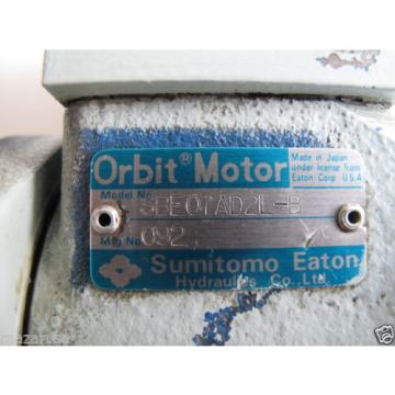 SUMITOMO SBE07AD2L-B HYDRAULIC ORBIT MOTOR