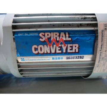 SUMITOMO INDUCTION MOTOR SPIRAL CONVEYER TC-FX 3 PHASE 02KW CNVM02-5085