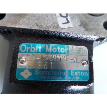 ORBIT HYDRAULIC MOTOR SUMITOMO EATON H-050BA2F-G H050BA2FG H 050BA2F G James