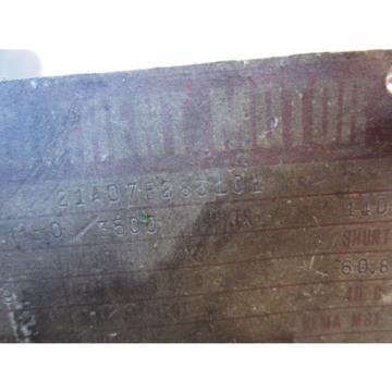 SUMITOMO CD 218 21A07P285101 DIRECT CURRENT MOTOR ENCODER CD218