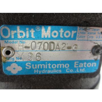 SUMITOMO EATON ORBIT MOTOR H-070DA2-G 486
