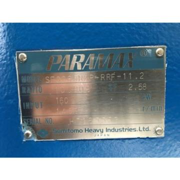 Sumitomo paramax drive SFC series geared drive unit