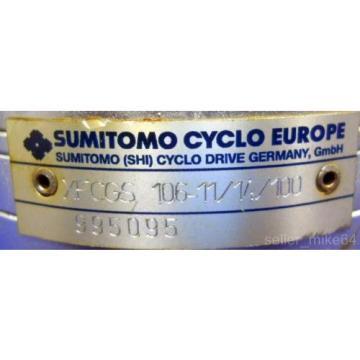 SUMITOMO CYCLO, XFCGS, GEARHEAD, 106-11/14/100, NNB