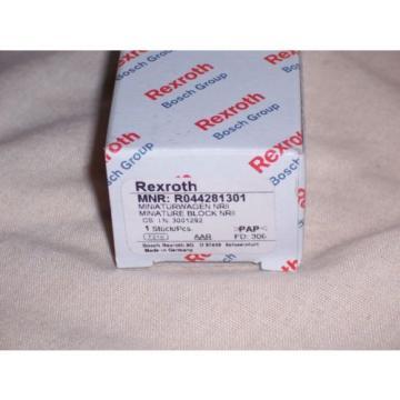 REXROTH R044281301 Linear slide
