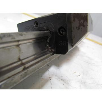 Rexroth Bosch STAR 35 Linear Actuator Guide Bearings W/677mm Rail Hyundai HIT15S