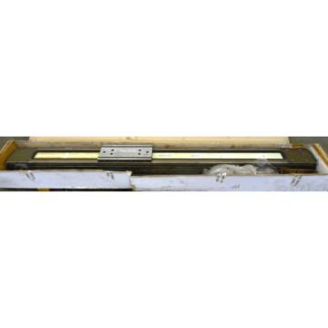 REXROTH, LINEAR RAIL, W/ TOOLING, 75AT20 8454-010-1020,001, 92-3/4#034; LENGTH