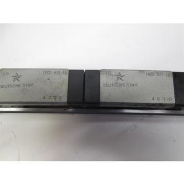 Deutsche Star Rail, Length: 880mm, Size: 20 w/x2 Linear Slide Blocks 1622-822-10