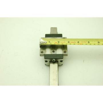 Rexroth Star Linear Motion Rail 200L,  2 Rails 2 Blocks