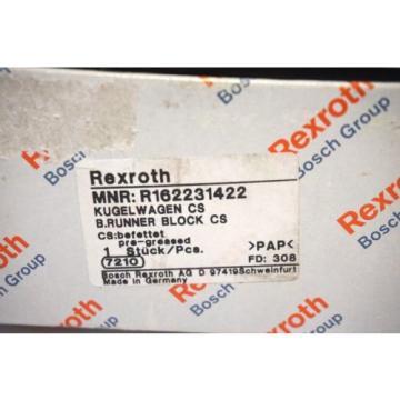 Origin REXROTH R162231422 LINEAR RAIL BLOCK