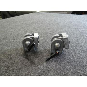 Pair of Bosch Rexroth Linear Motion Multi Angle Connector Kit 3 842 502 680