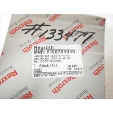 Bosch LINEAR GUIDE Linear Bearing REXROTH R106764040 Origin IN BOX