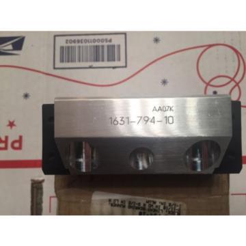 REXROTH Star Linear Bearing Running Block 1631-794-10
