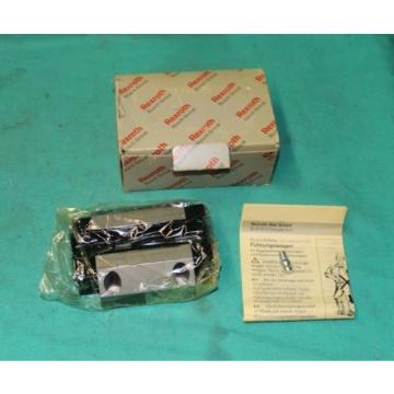 Rexroth, R185123210, Linear Bearing Runner Block Roller Rail Origin