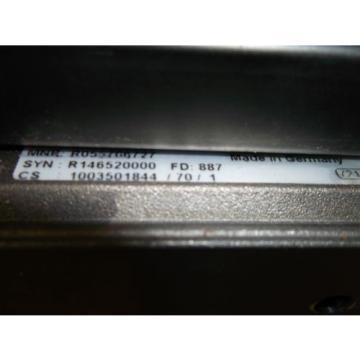Rexroth Servomotor MSM020B-0300-NN-M0-C G0 mit Rexroth Linearschiene