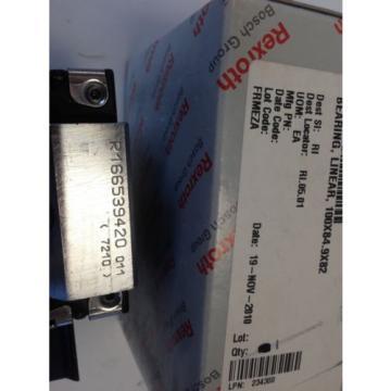 origin REXROTH/BOSCH R166539420 011 7210  5101-9638-A LINEAR RAIL BEARING  DG