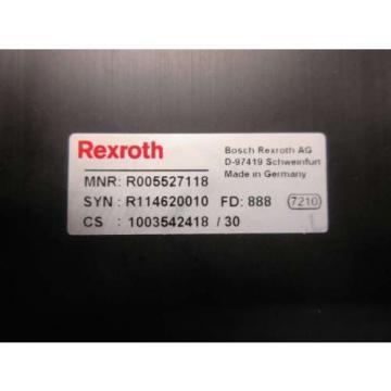 Origin REXROTH 3-495-22 R005527118 495MM RODLESS LINEAR PNEUMATIC CYLINDER D505948