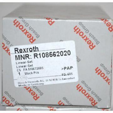 BOSCH REXROTH  R108562020 LINEAR-SET  NEU Origin OVP