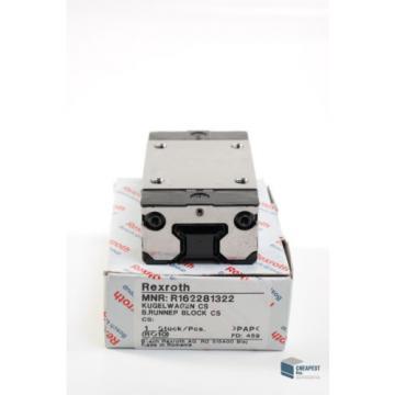 Rexroth R162281322 Kugelwagen Führungswagen Rollenschienenführung Linear Bearing