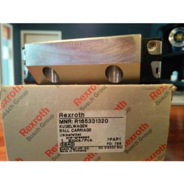 R165331320 REXROTH RUNNER BLOCK LINEAR BEARING