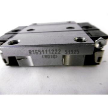 Rexroth / Bosch R165111222, Linear Bearing Kugelführungswagen