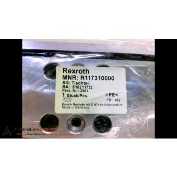 REXROTH R117310000 LINEAR CARRIAGE 190MM, Origin