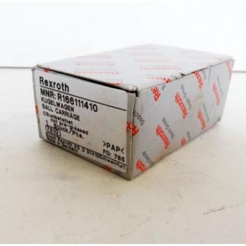 Rexroth MNR:R166111410 Kugelwagen 7210 Linear-Block  - unused -
